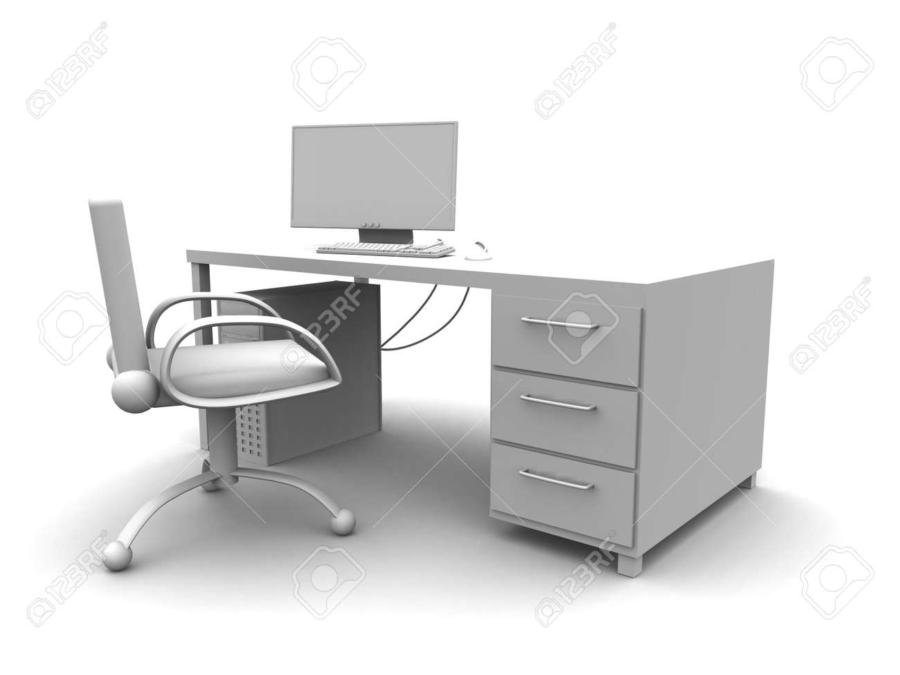 PC Workplace Stock Photo - 778007