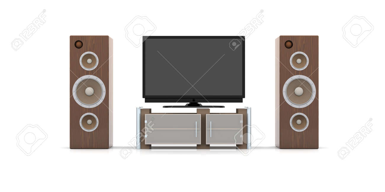 Home Entertainment System Stock Photo - 1737570