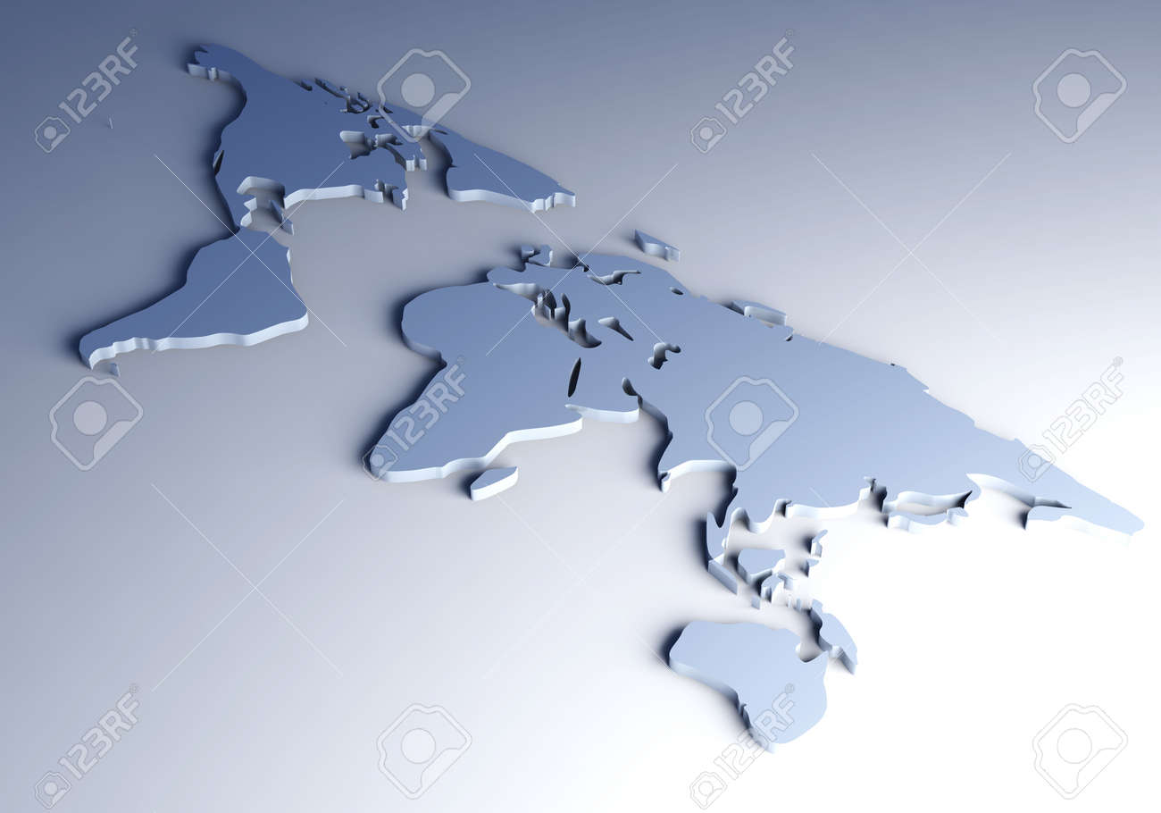 3d world map stock photo picture and royalty free image image 4802234 3d world map stock photo 4802234 gumiabroncs Gallery