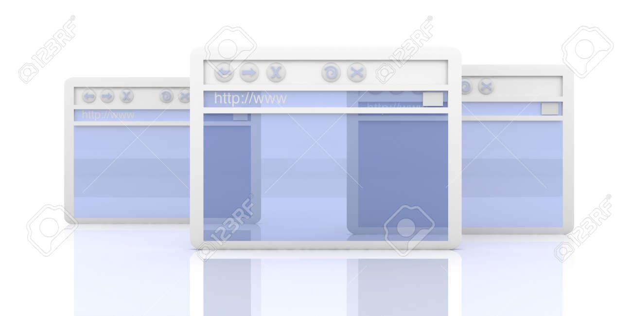 Browser Windows Stock Photo - 4865051