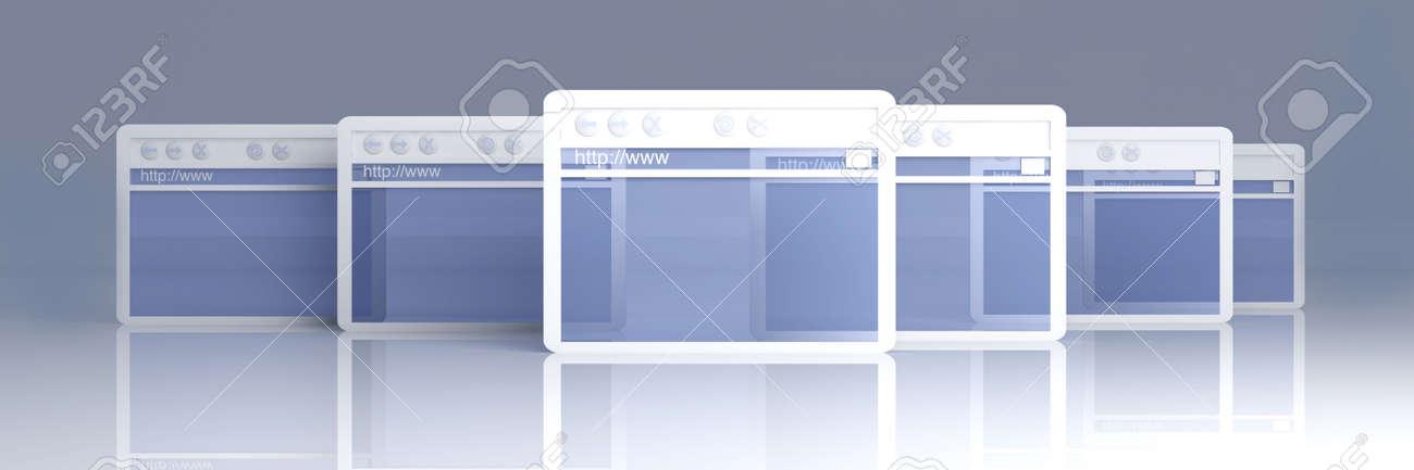 Browser Windows Stock Photo - 4923317