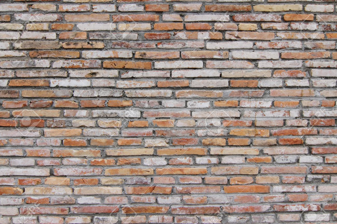 Exposed Brick Wall A Bare And Exposed Brick Wall Ideal For Backgrounds Stock Photo