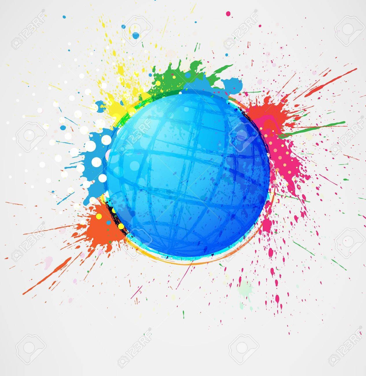 Abstract globe Stock Vector - 13786277
