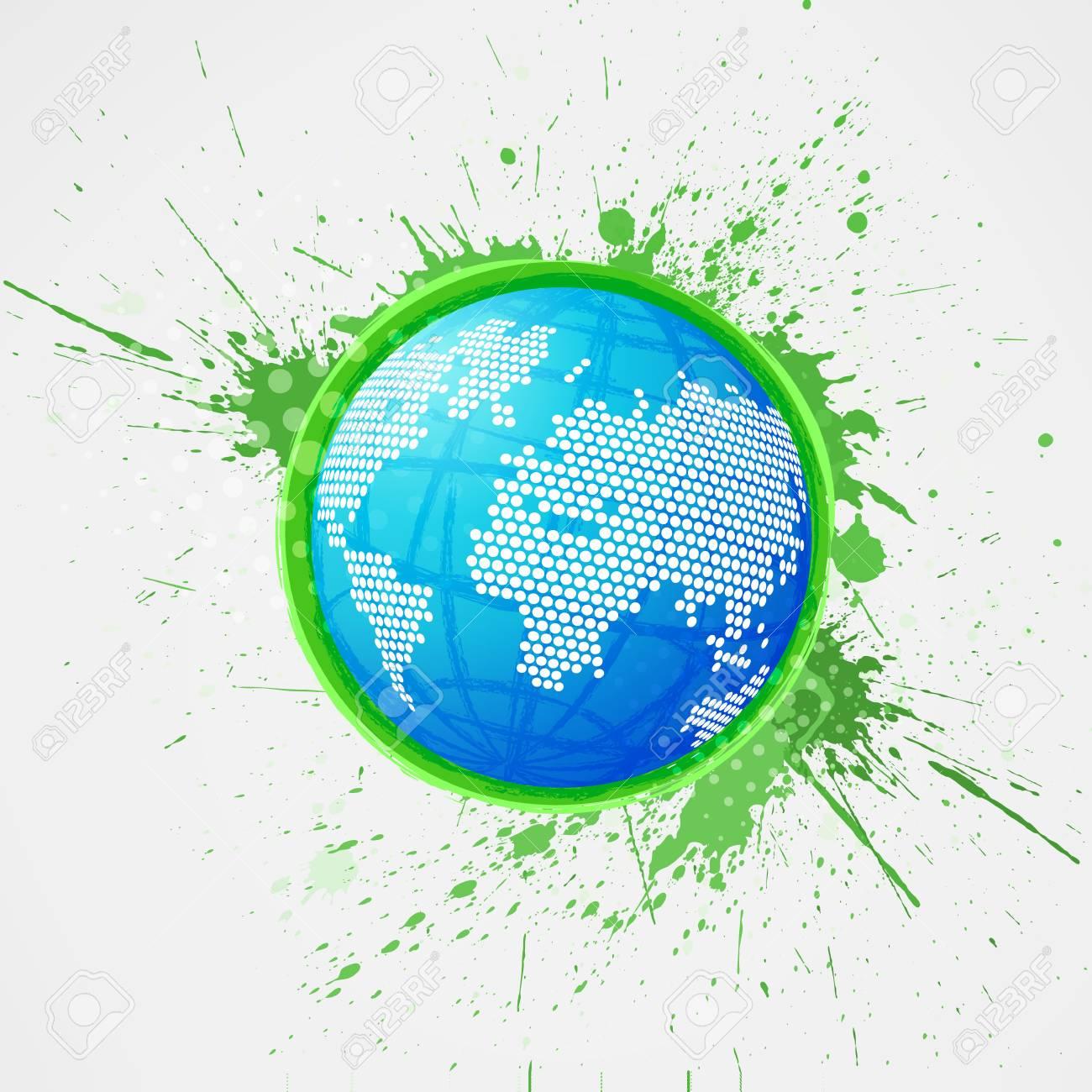 Abstract globe Stock Vector - 13797532