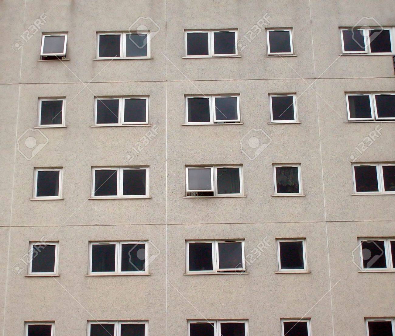 Urban inner city tower block, Bridlington, East YorkshireEngland. - 3287550
