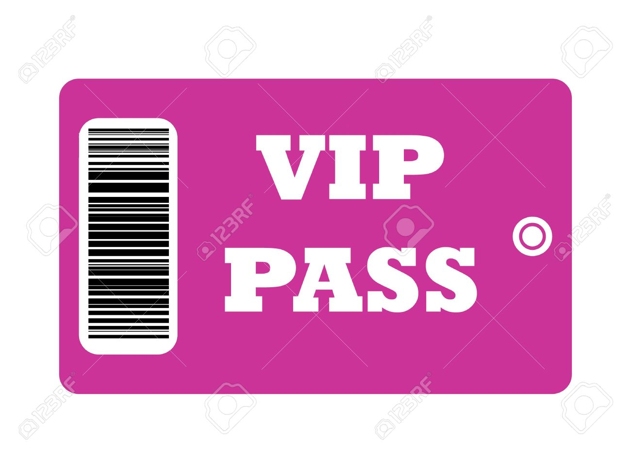 Vip Pass Stock Photo - VIP Pass with