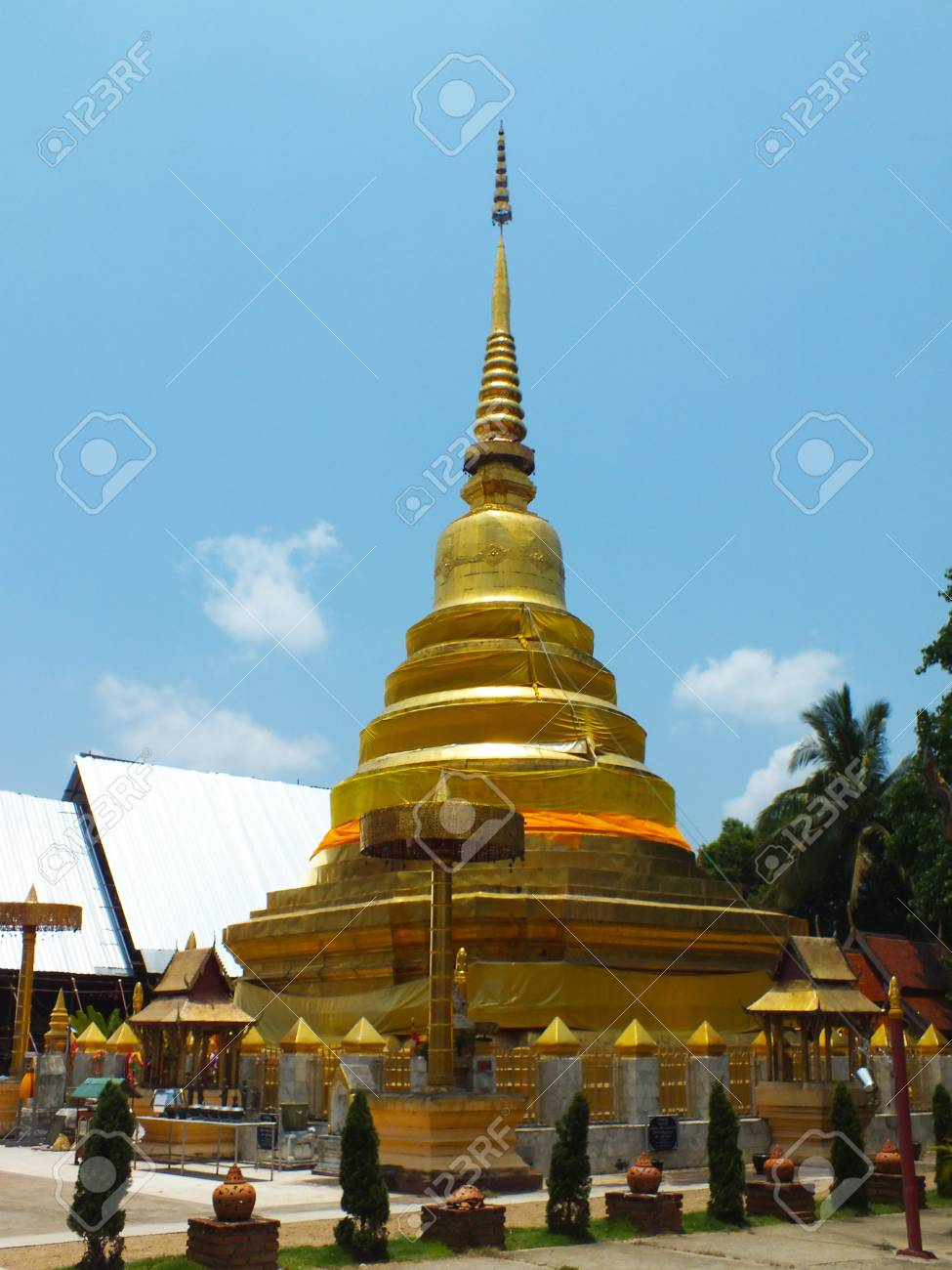 Holy relics from thailand . Stock Photo - 19746952