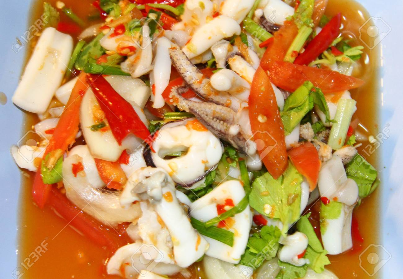 Squid Salad. A collection of delicious and simple recipes 32