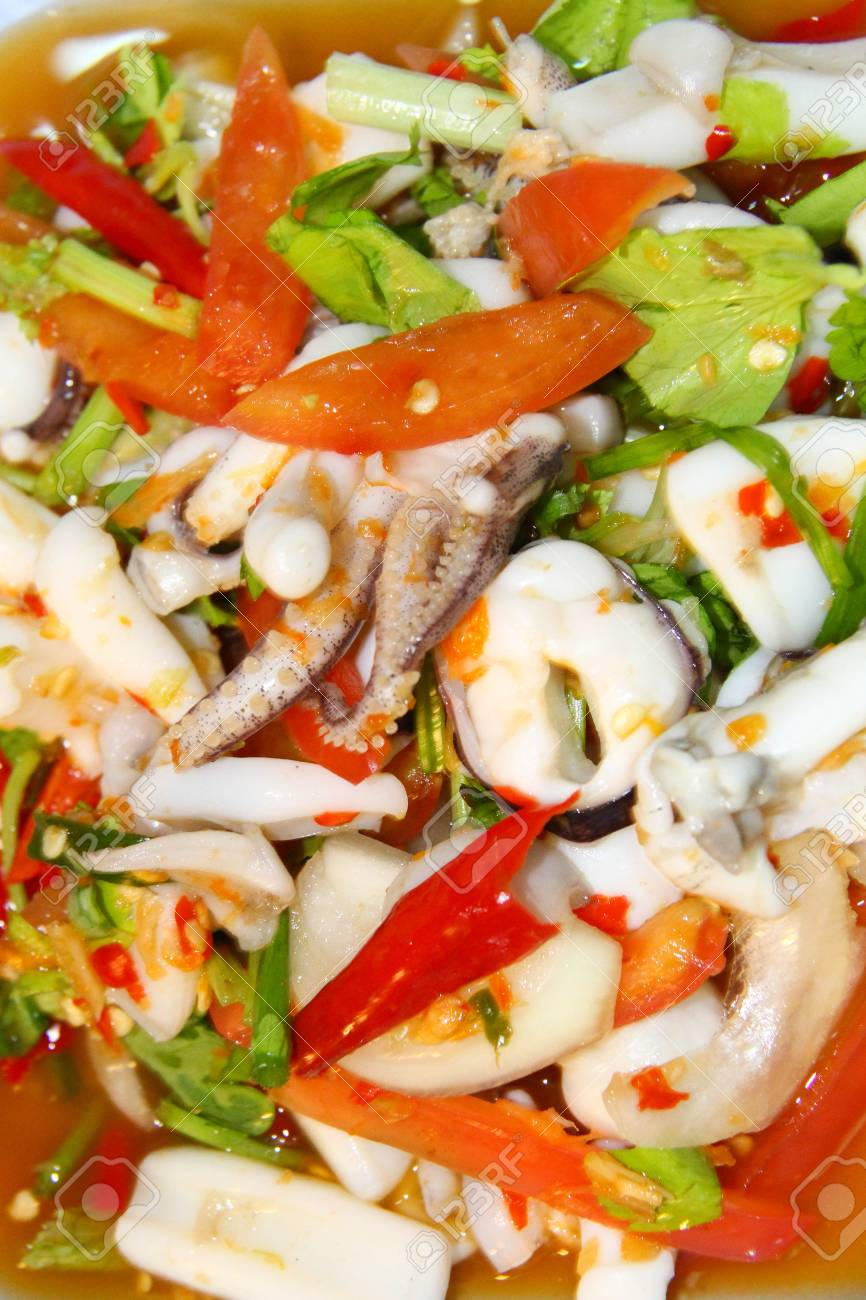 Squid Salad. A collection of delicious and simple recipes 76