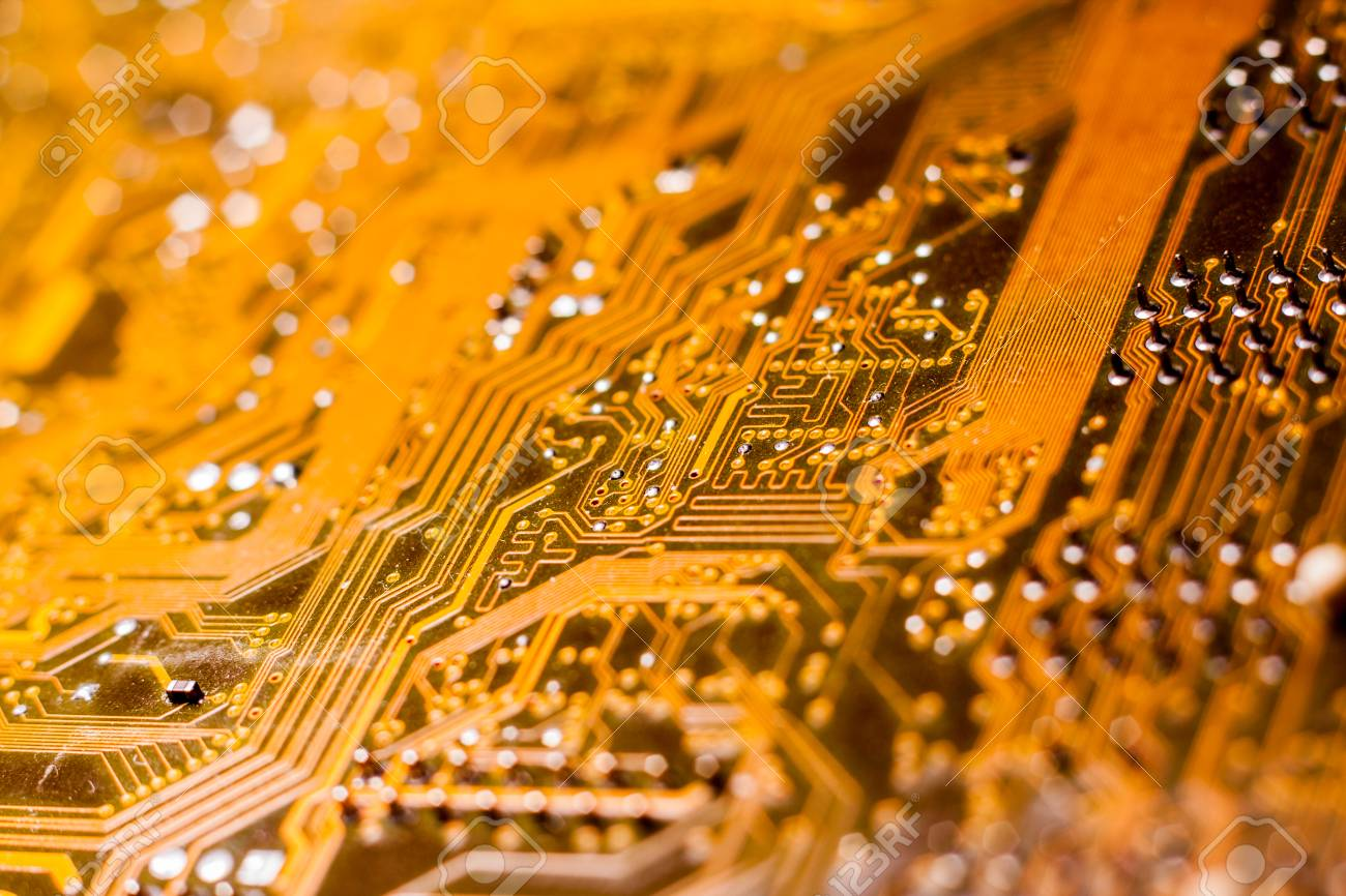 A Printed Circuit Board Pcb Connects Electronic Or Electrical Of Transistors Capacitors And Other Components Using Conductive Tracks