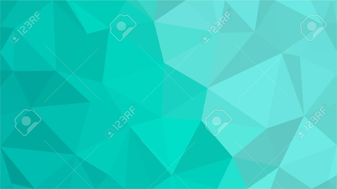 Aqua Water Blue Polygonal Mosaic Background, Low Poly Style, Vector illustration, Business Design Templates - 107486770