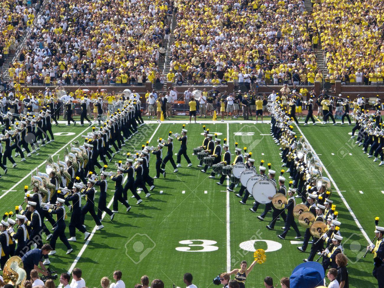 ミシガン州立大学行進バンドはウ...