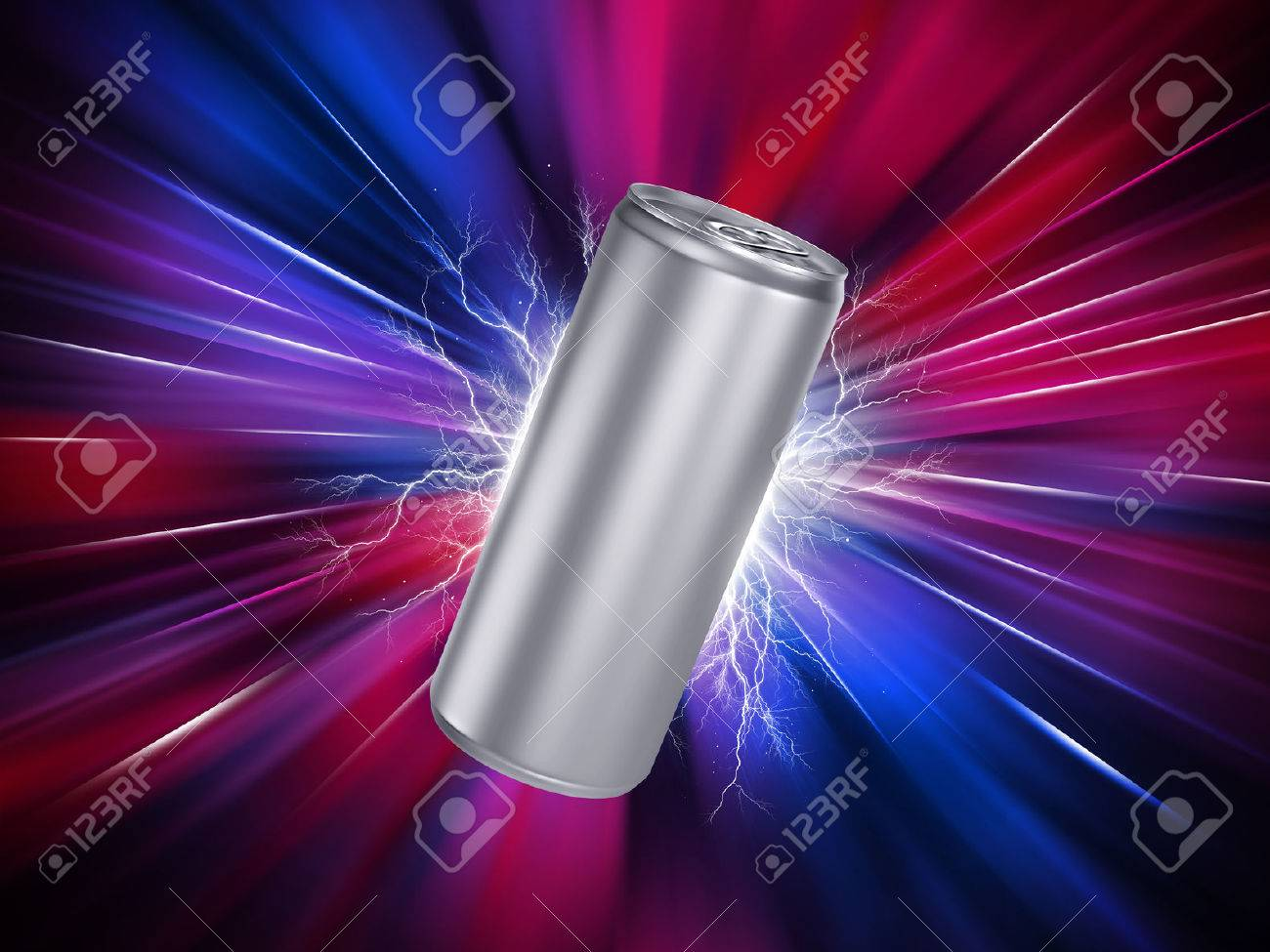 Energy Drink Can Template - 51329344