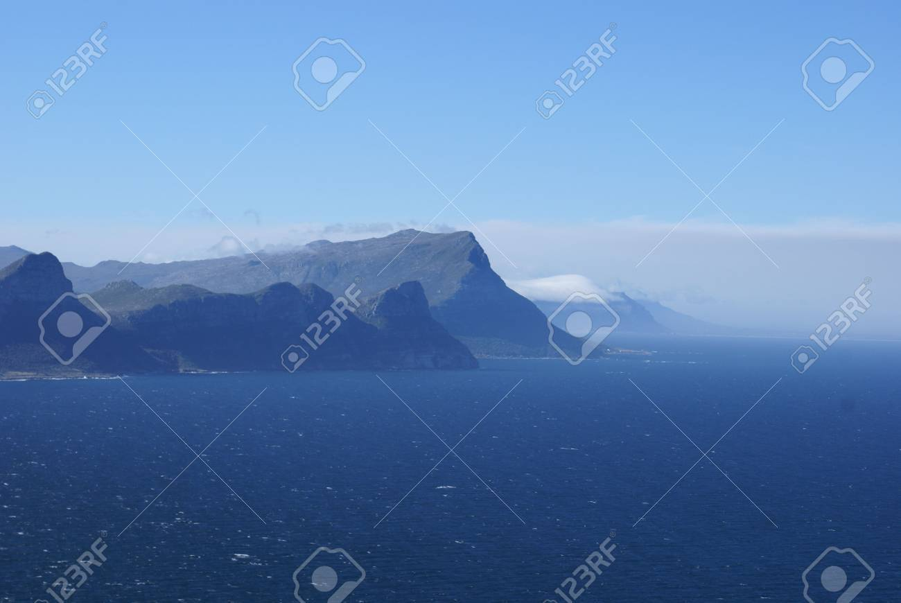View from cape point SA Stock Photo - 4118743