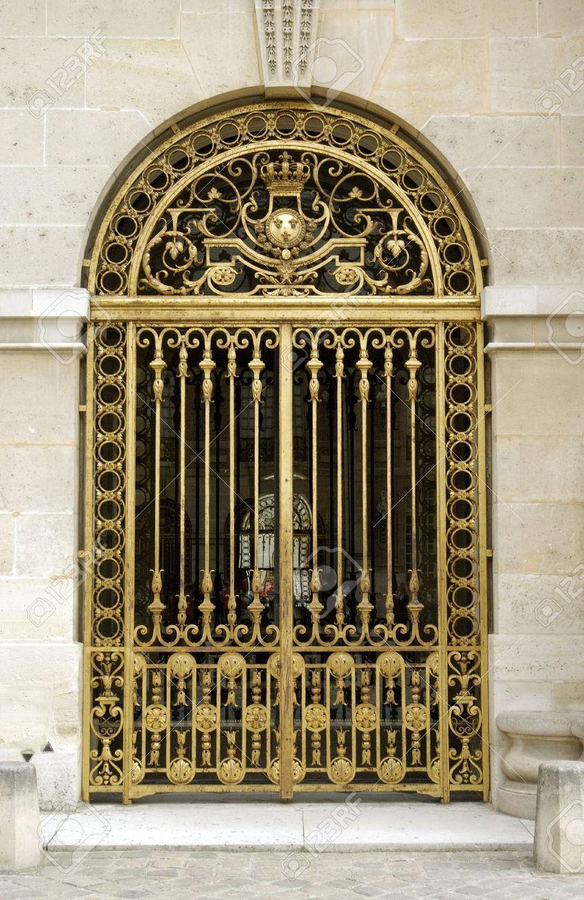 Golden Gates of Versailles Versailles Golden Gates