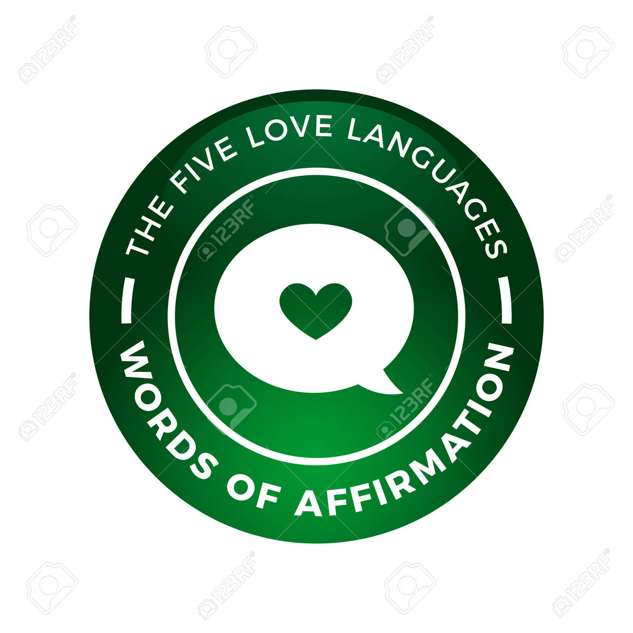 Love words language affirmation of Words of