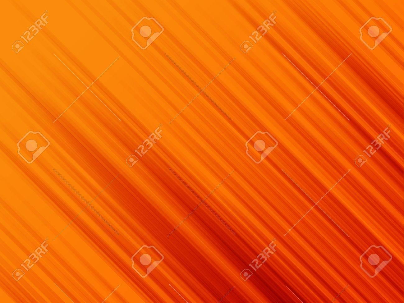 Illustration of gradient lines shooting diagonally over orange background. - 9757252