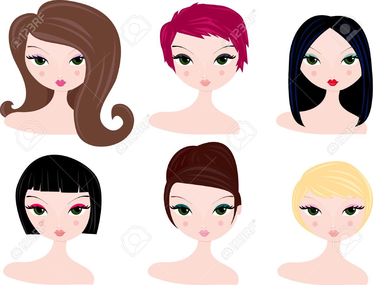 verschiedene haarfarben