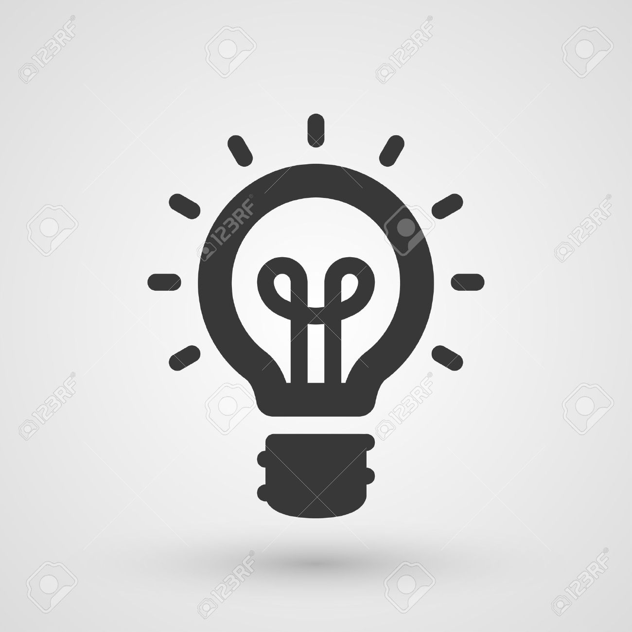 Black Idea Icon. Innovation And Creativity Concept Royalty Free ...