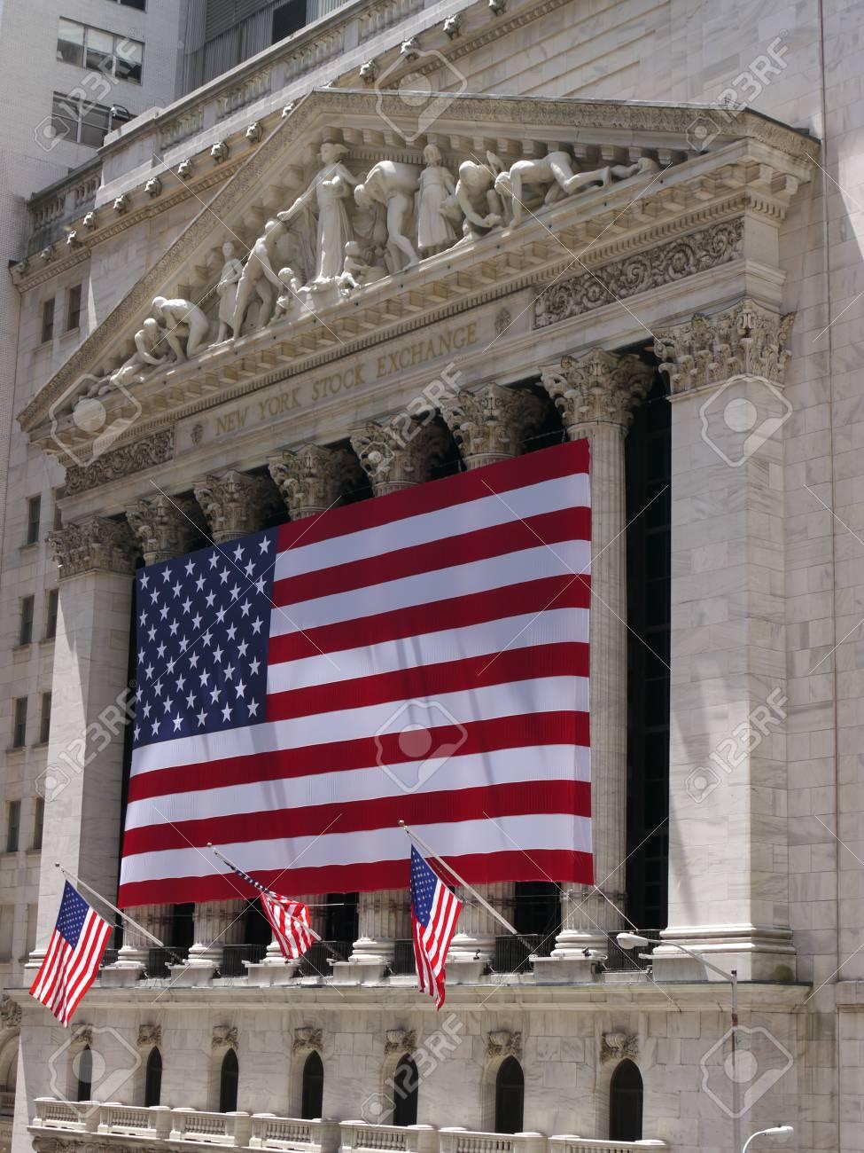 New York City, May 2011, New York Stock Exchange Stock Photo - 9684248
