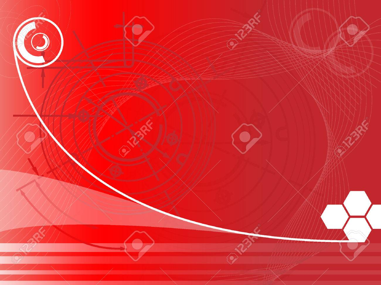 futuristic techno background Stock Vector - 8557343