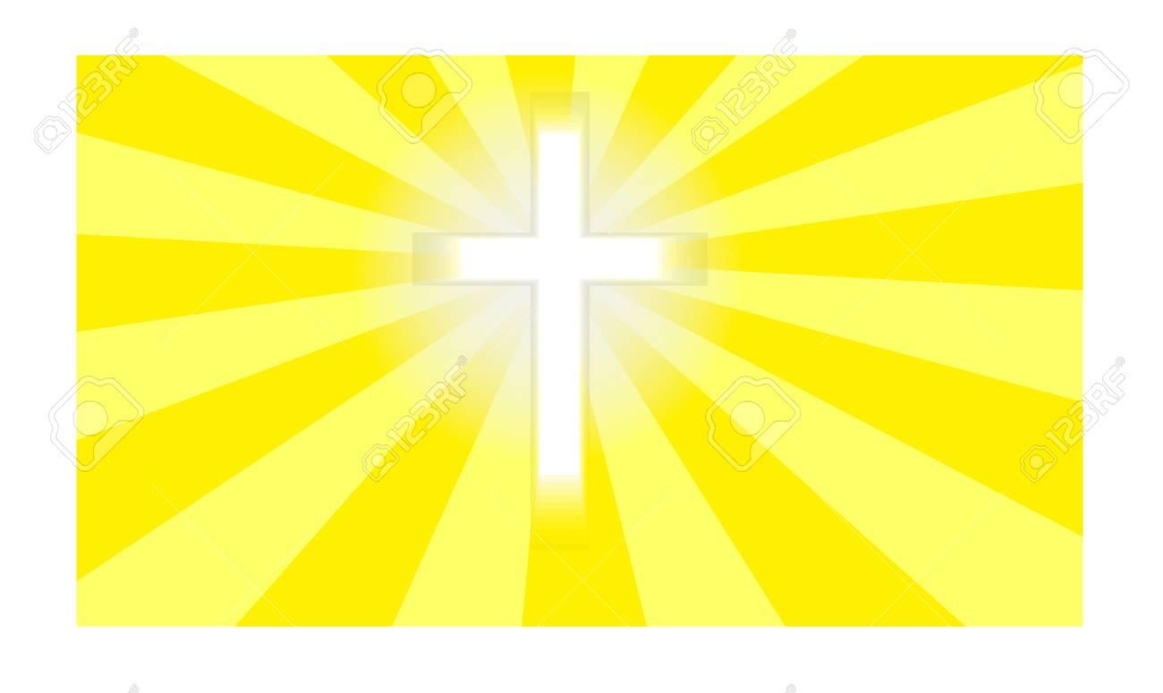 Crucifix in sunlight Stock Vector - 17041321