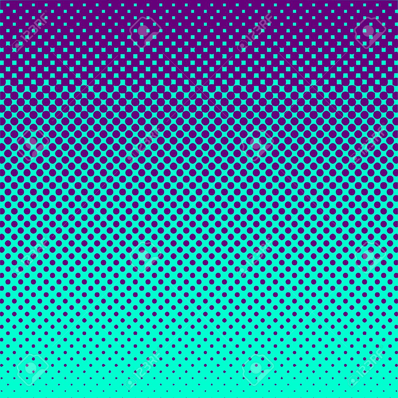 Halftone Abstract Background Purple and Green Vector - 47260183