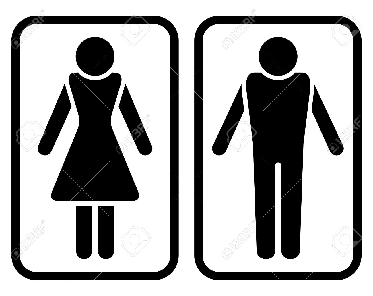 Male Female Bathroom Symbols Fair Male Female Toilet Symbols  Kalecelikkapi24 Inspiration