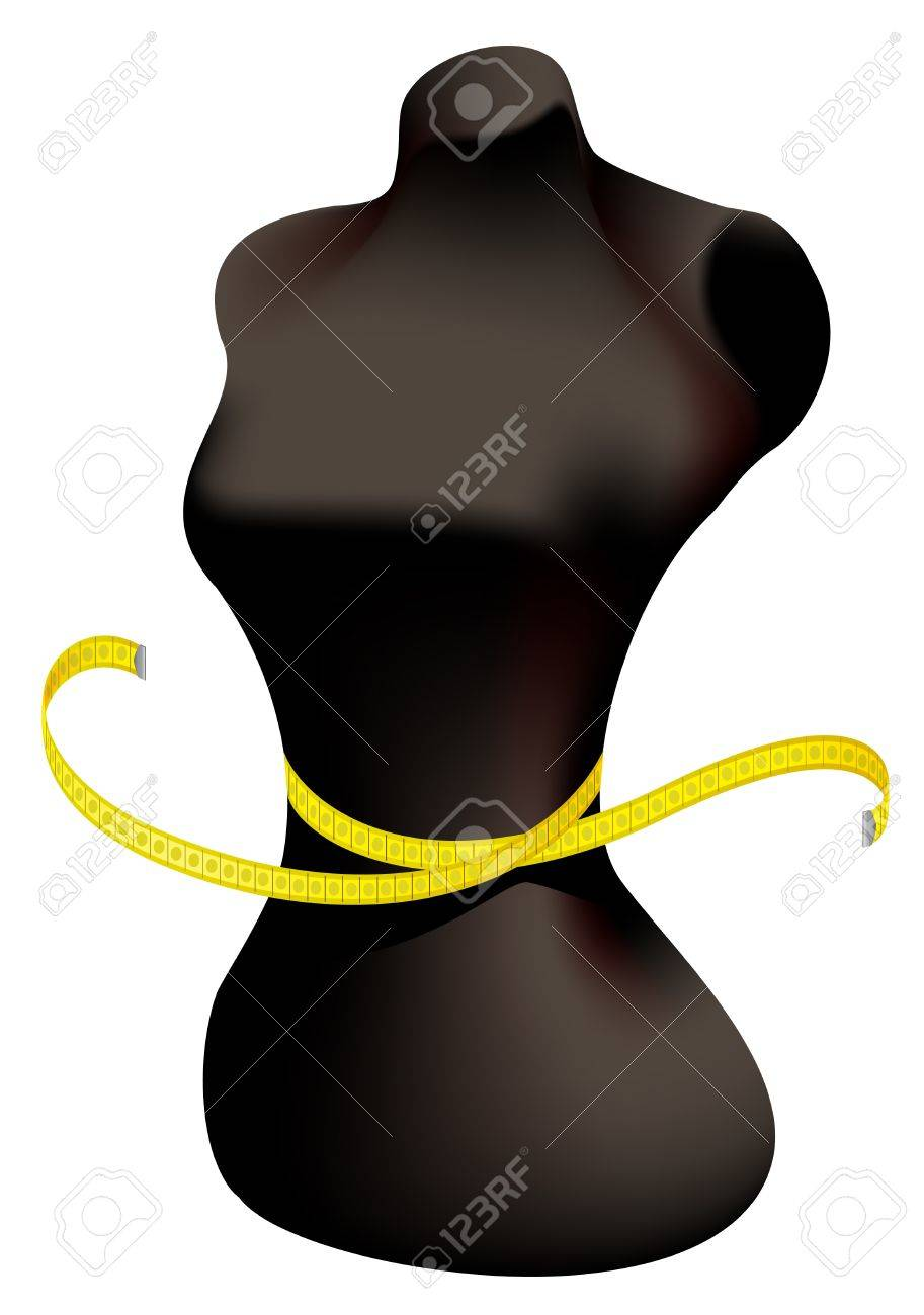 Mannequin and measuring tape. - 9466953