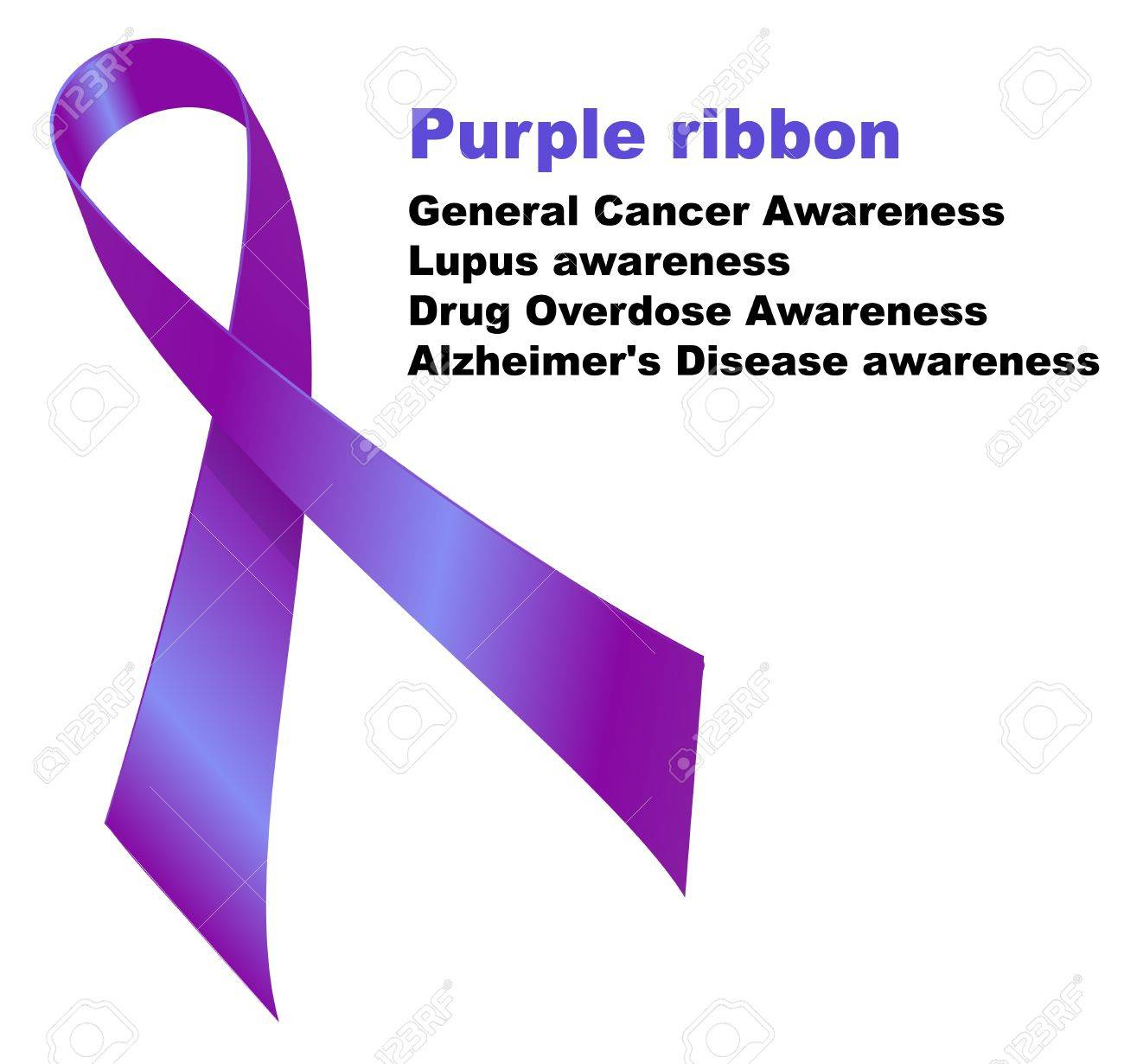 Purple ribbon general cancer awareness lupus awareness drug purple ribbon general cancer awareness lupus awareness drug overdose awareness alzheimers disease biocorpaavc Image collections