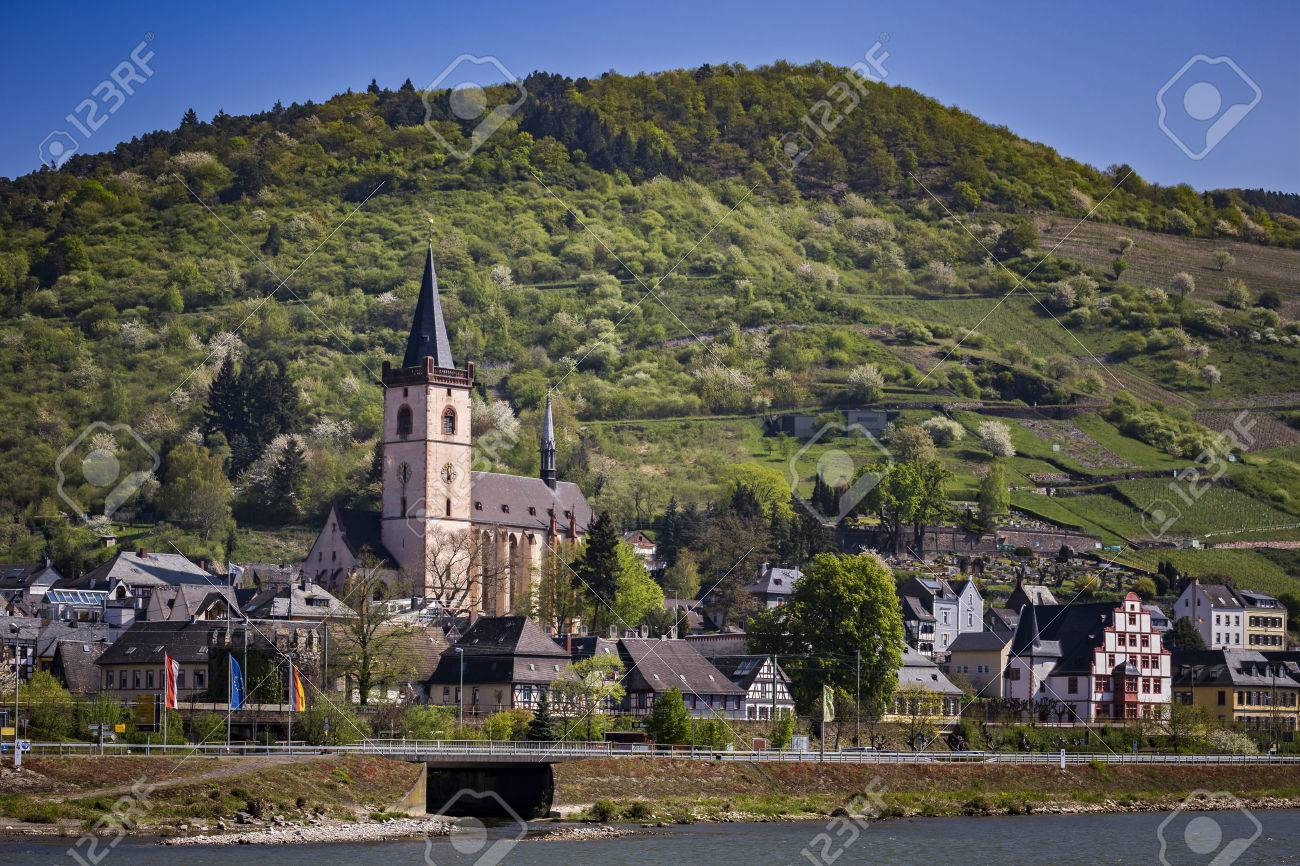 The City Lorch On The Rhine Stock Photo Picture And Royalty Free