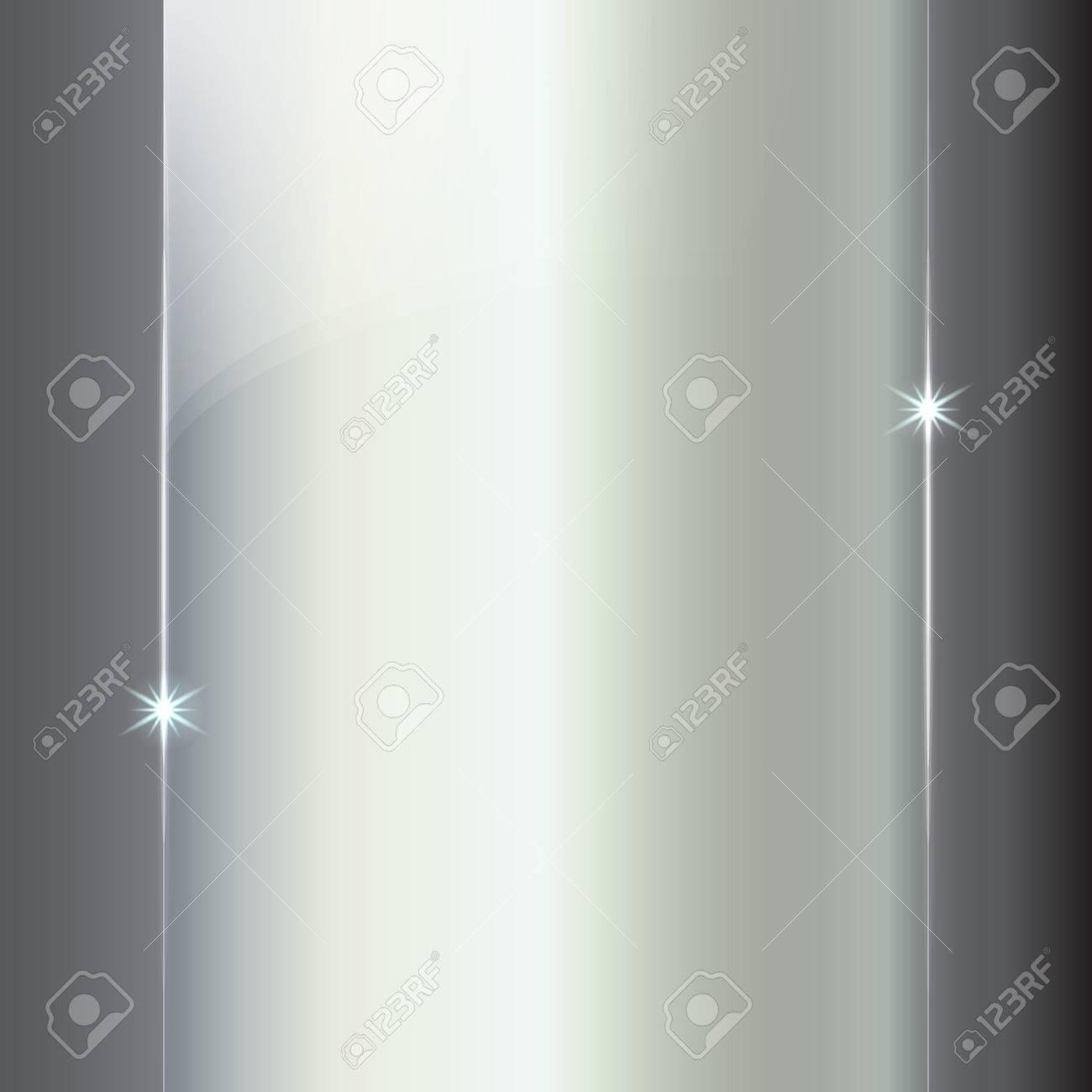 Brillante Metálico Plata Abstracto Fondo Placa De Color zVpGqSULM