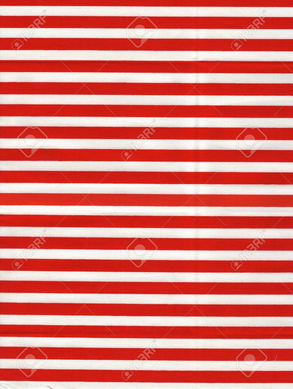 Red And White Striped Fabric Stock Photo Picture And Royalty Free
