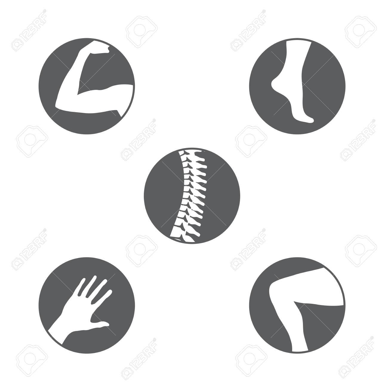 Set of orthopedics icons. - 94716719