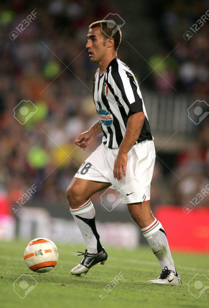 Fabio Cannavaro Juventus In Action During The Friendly Match
