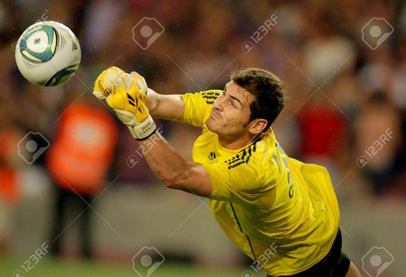 Stock Photo - Iker Casillas of