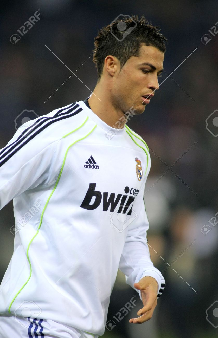 6a39c72e5 Cristiano Ronaldo of Real Madrid before a spanish league match between  Espanyol and Real Madrid at