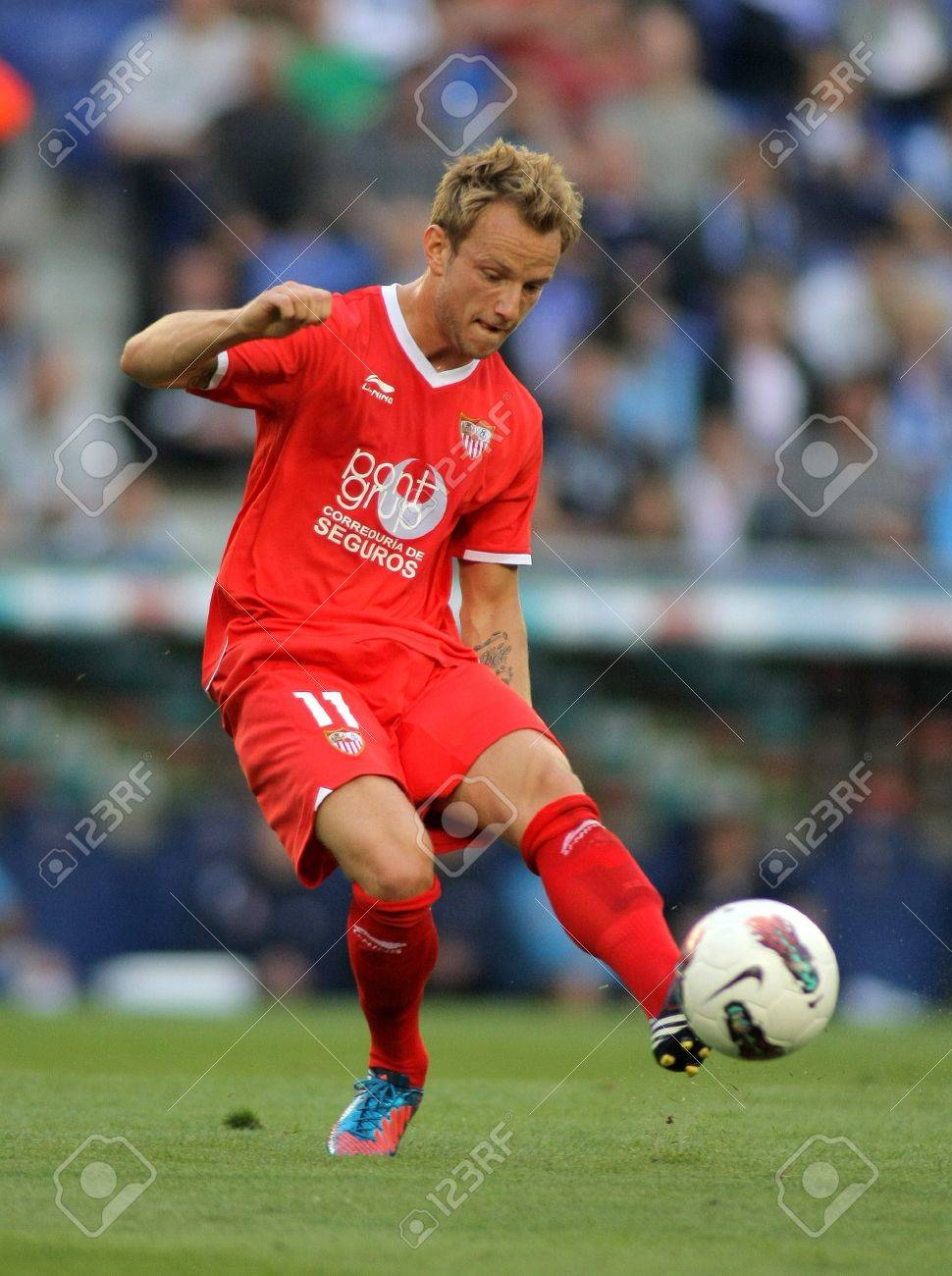 Ivan Rakitic Sevilla FC In Action During A Spanish League