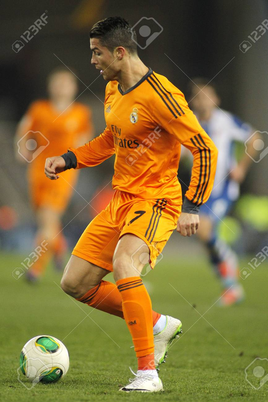 3e3d197c1 Cristiano Ronaldo of Real Madrid during the Spanish Kings Cup match between  Espanyol and Real Madrid