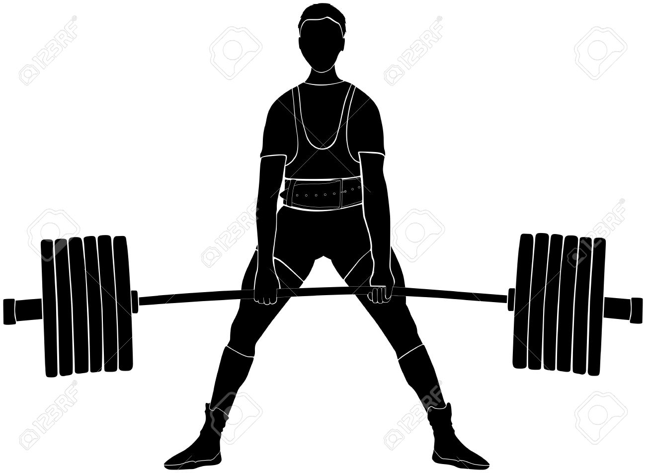 Male athlete powerlifter deadlift in powerlifting black silhouette male athlete powerlifter deadlift in powerlifting black silhouette stock vector 72975193 falaconquin