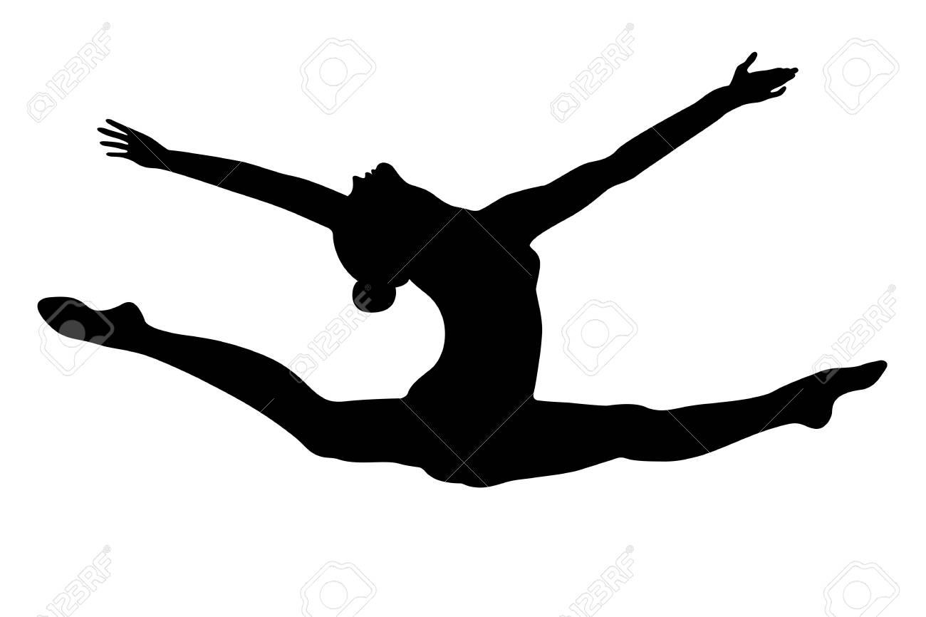 Rhythmic gymnastics Split Artistic gymnastics, Rhythmic Gymnastics  transparent background PNG clipart | HiClipart