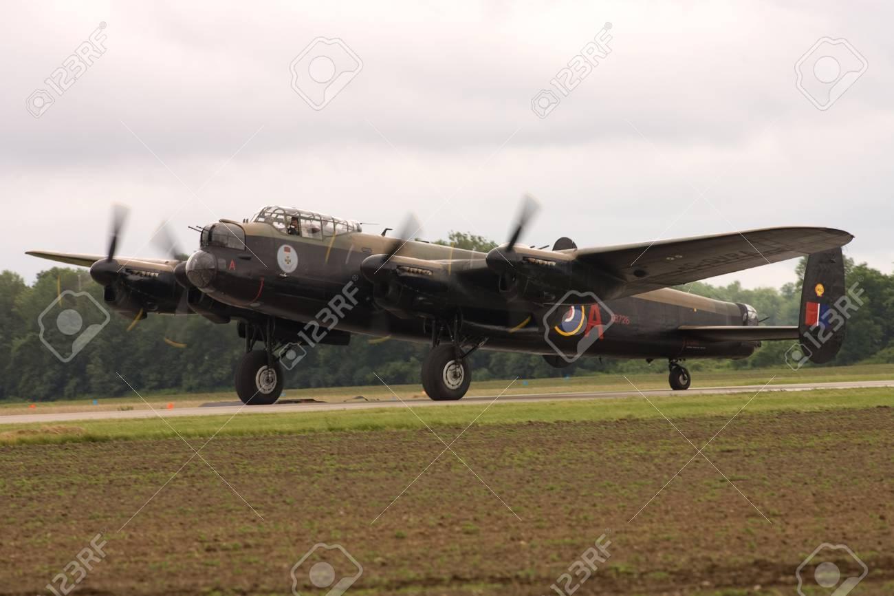 St  Thomas, Canada  June 25, 2011  A World War II Avro Lancaster