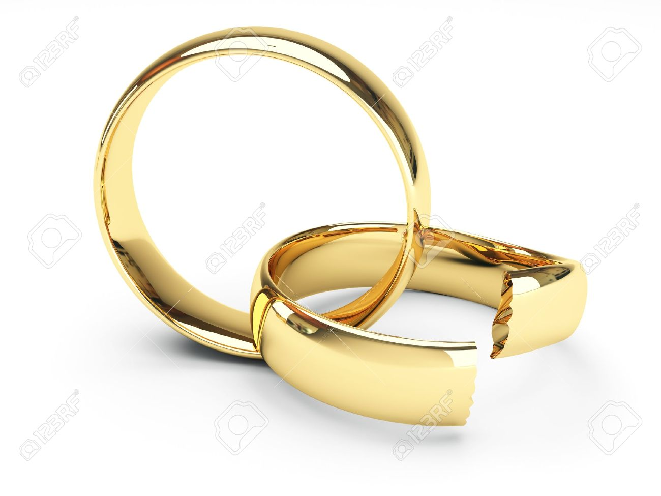 gallery broken stock awesome elegant of wedding view displaying rings gold isolated attachment image full illustration