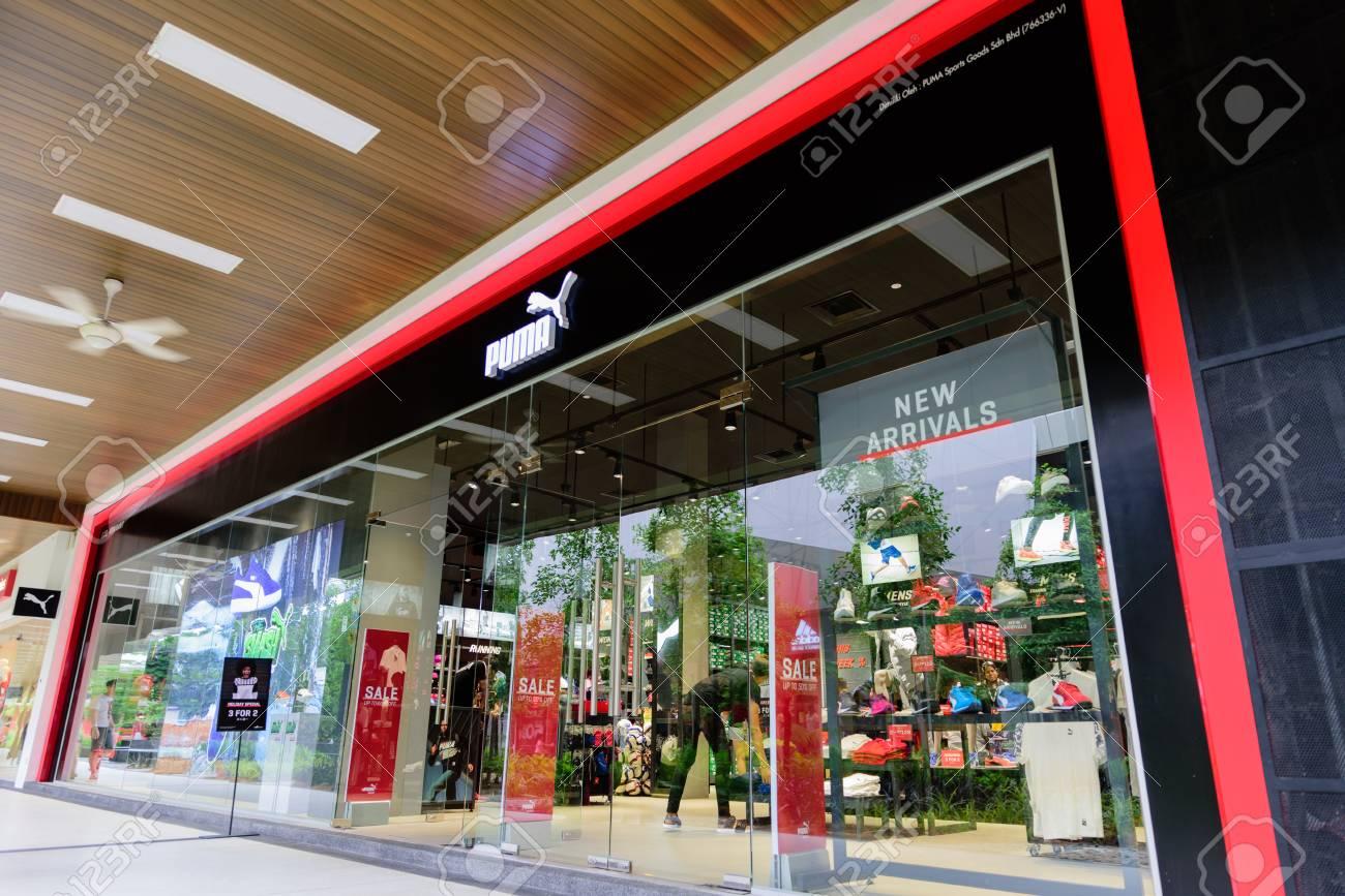 énorme réduction 70c73 4e709 Penang, Malaysia - Nov 11, 2017: Puma shop. PUMA SE, branded..
