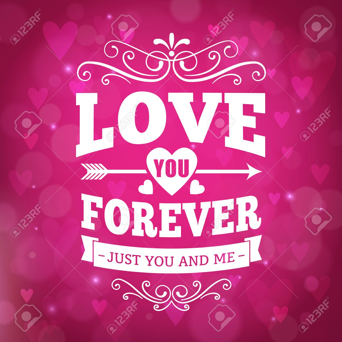 Love you forever typografie wenskaart achtergrond ontwerp royalty love you forever typografie wenskaart achtergrond ontwerp stockfoto 35389432 voltagebd Images
