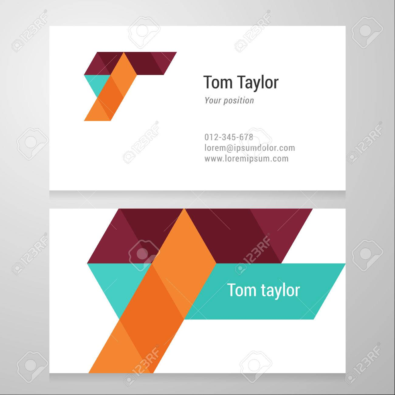 Unusual 1 Inch Hexagon Template Tiny 1 Page Resumes Examples Square 1.25 Button Template 10 Best Resumes Youthful 10 Tips To Making A Resume Yellow100 Dollar Bill Template Modern Letter T Business Card Template. Vector Design. Layered ..