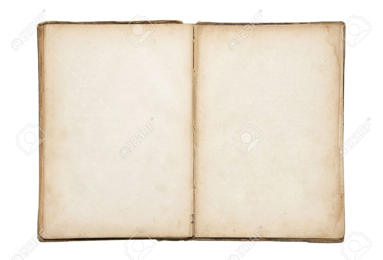 open old blank book stock photo picture and royalty free image