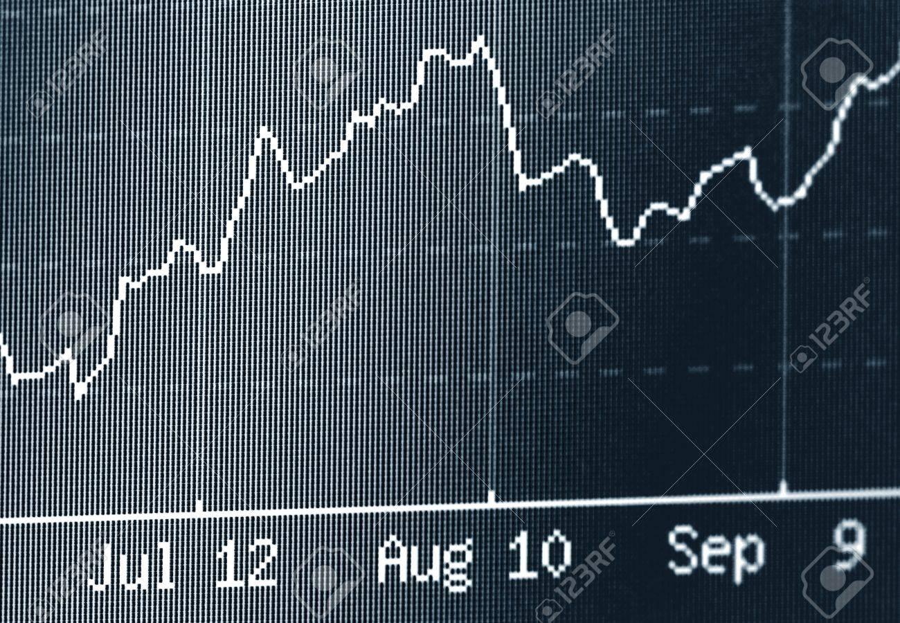 Stock chart Stock Photo - 7962369