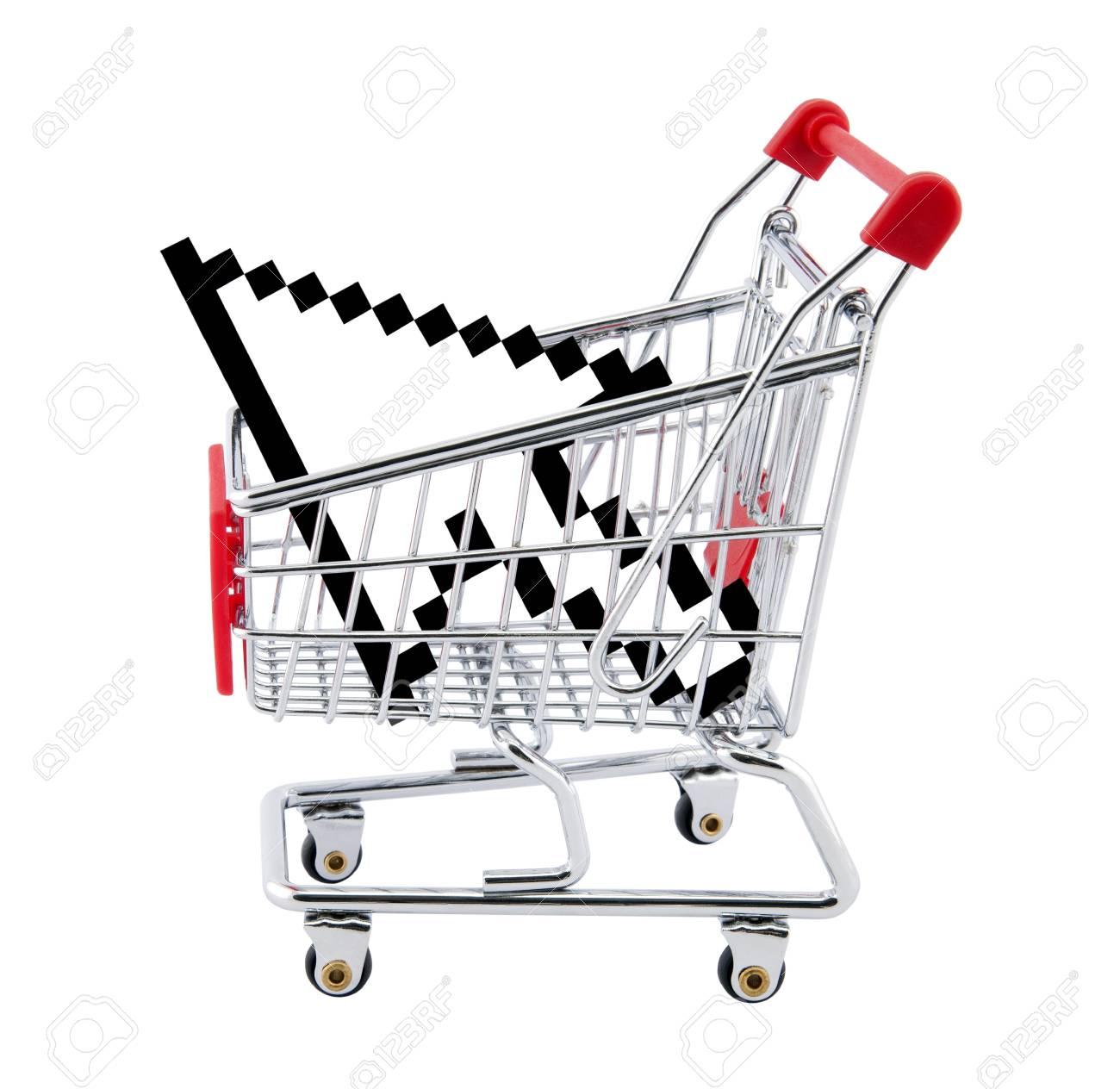 Internet shopping. Stock Photo - 9991260