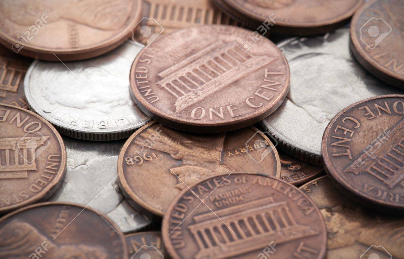 American coins Stock Photo - 10616905